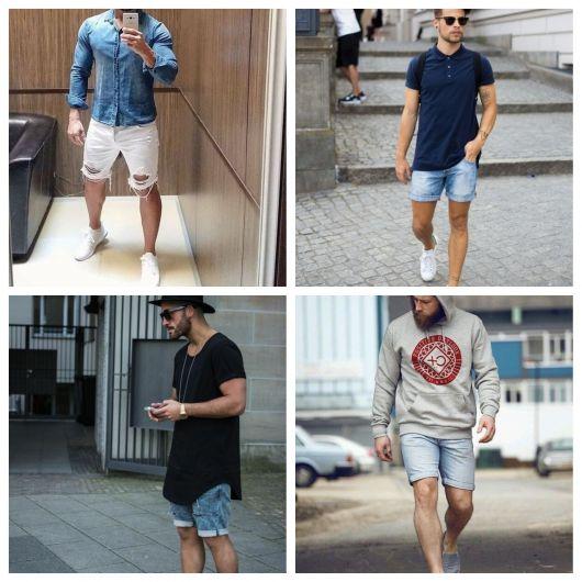 Bermuda Jeans Masculina – Como Compor 60 Looks Irados com a Peça!