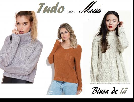 Blusa de Lã – 83 Modelos Divinos com as Melhores Dicas de Looks!