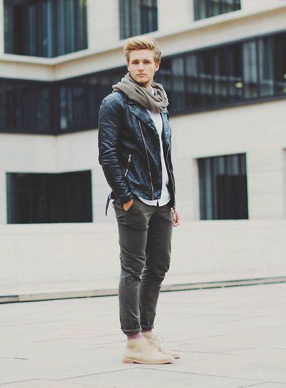 calça preta masculina slim