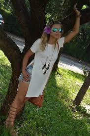 camisetas femininas longline branca