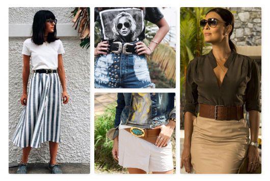 Como Usar Cinto Feminino – 45 Modelos Sensacionais & Dicas de Looks!