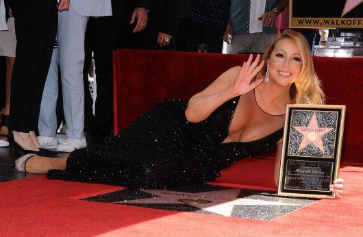 decotes ousados da Mariah Carey