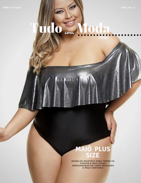 Maiô Plus Size – Os 50 Modelos Mais Deslumbrantes Para Gordinhas!