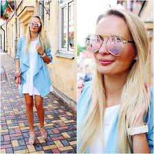 óculos rosé com lente espelhada
