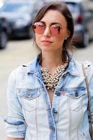 óculos rosé redondo
