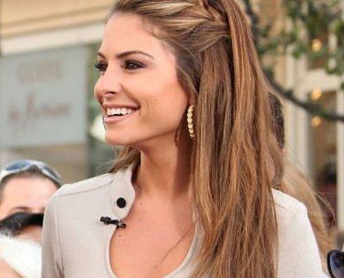 Penteados para Festa cabelo liso solto com trança lateral