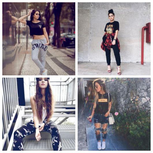 Calça Swag Feminina – 30 Modelos Super Estilosos & Como Criar Looks!
