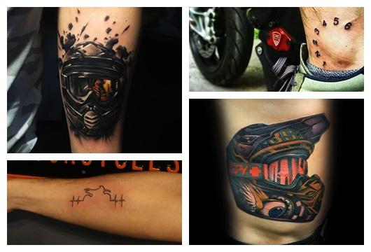 Tatuagem de Motocross: 25 Ótimas Ideias para usar como Inspiração!
