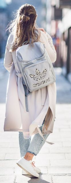 mochila feminina Adidas
