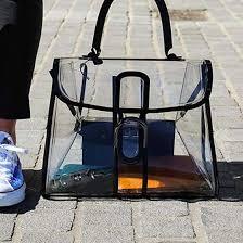 mochila transparente básica
