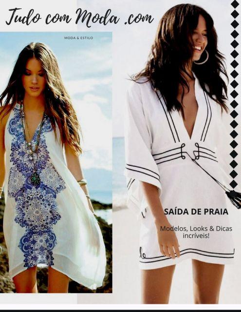 50 Modelos de Saída de Praia Perfeitos & Dicas para Escolher a Sua!
