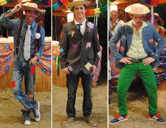 roupa de festa junina masculina