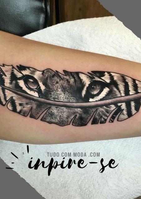 Tatuagem De Pena Principais Significados 50 Inspirações