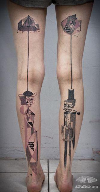 tatuagem grande feminina