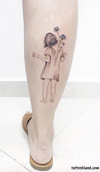tatuagem pequena e delicada