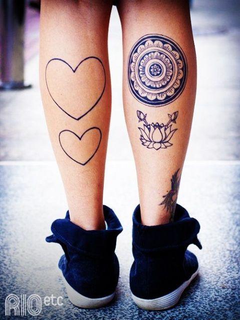 ideias para tatuagem preta