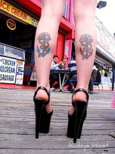 tatuagem âncora