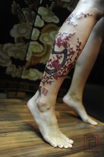 tatuagem cerejeira