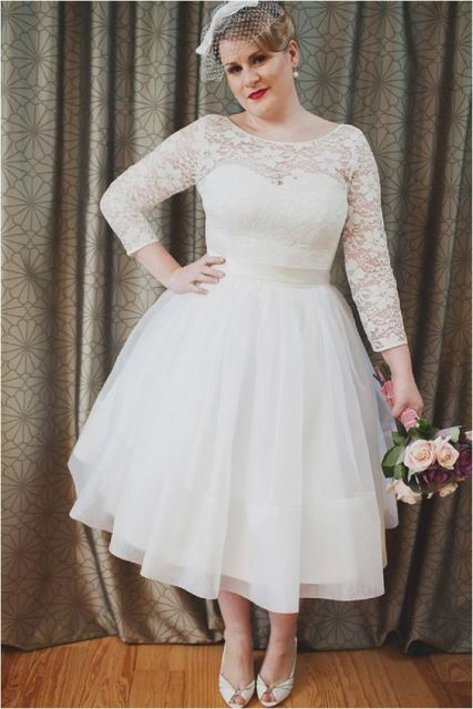 vestido de noiva com saia rodada
