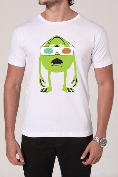 Camiseta com personagem do filme Monstros S.A.