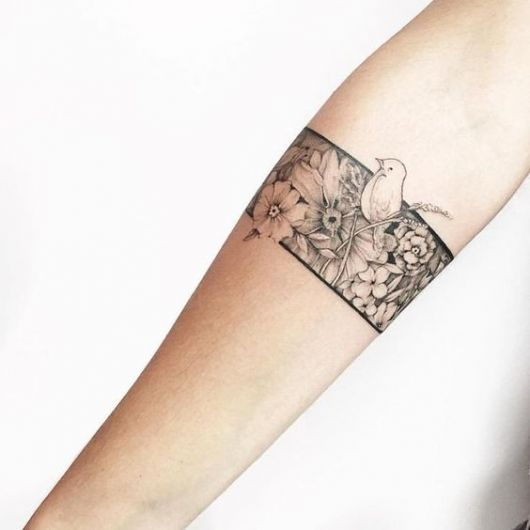 Tatuagem Bracelete Feminino - 47 Modelos Lindíssimos para ...