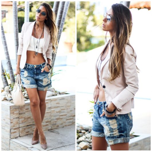 94eee4424b Bermuda Jeans Feminina – Como Usar