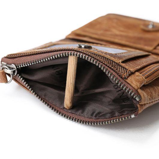 carteira masculina com zíper