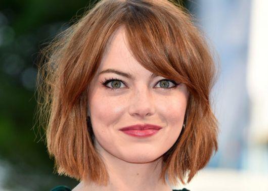 cabelo curto para rosto redondo