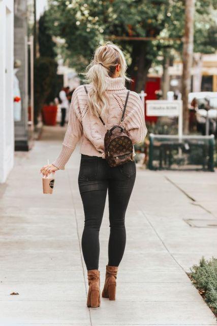 look com mochila Louis Vuitton