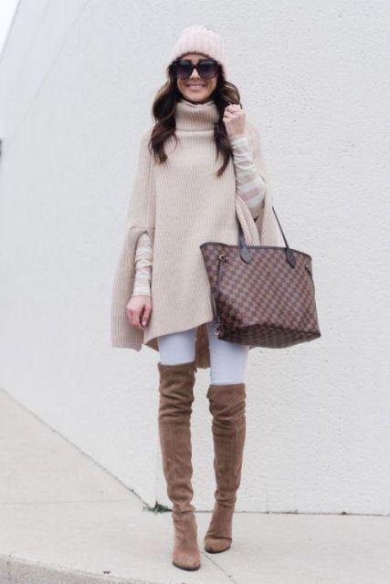 bota com calça branca
