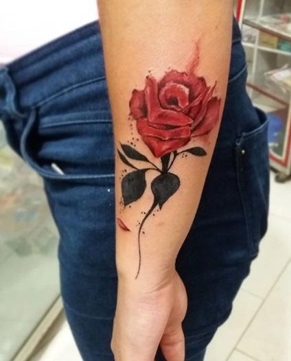 tatuagem colorida