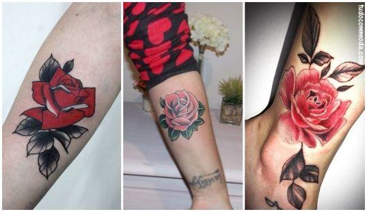 ideias para rosa vermelha