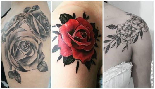 Tatuagem De Rosa 85 Inspirações Belíssimas Para Você Se