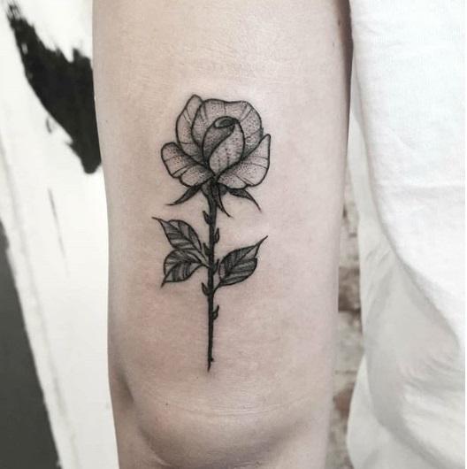 tatuagem pequena sombreada