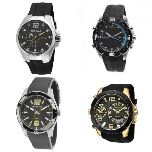 relógio masculino esportivo technos