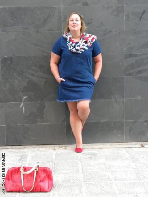 vestido com sapatilha