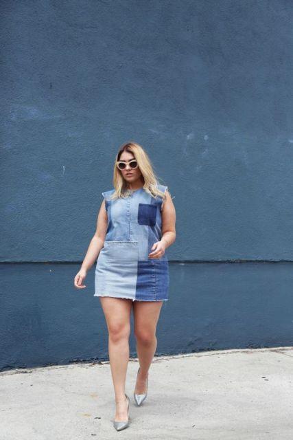 vestido curto moderno