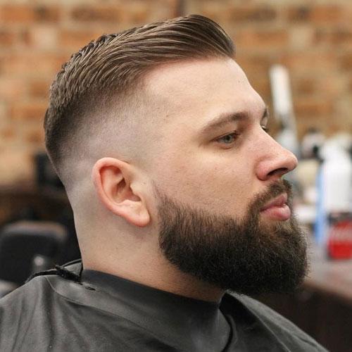 Faz toda a diferença no visual manter uma barba grande e destacada