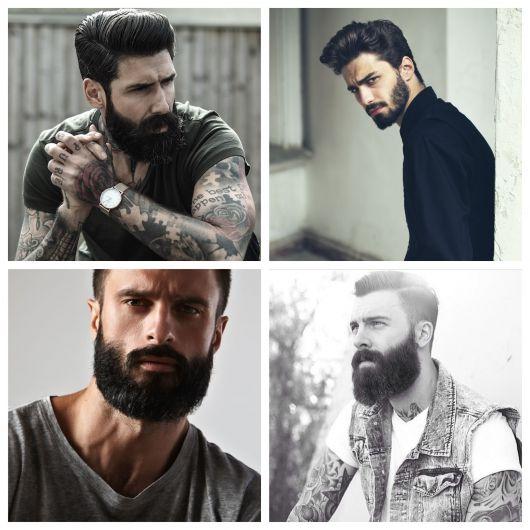 Manter um visual barbudo é ótimo para rapazes de todos os estilos