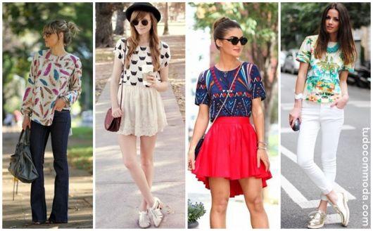 Blusa Estampada – Como Usar Sem Exageros & 42 Looks Inspiradores!