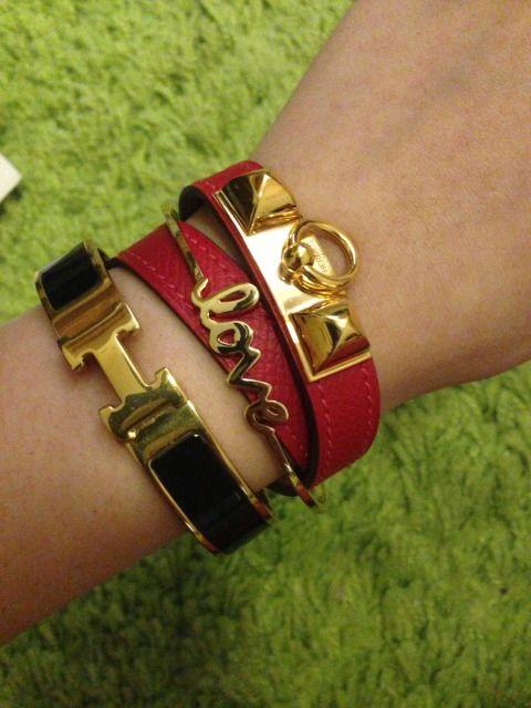 como usar vários braceletes