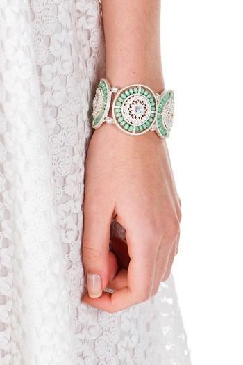 bracelete verde