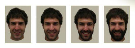 Processo de crescimento da barba