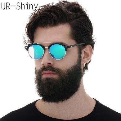 03ea24dc3c Óculos Redondo Masculino – 50 Modelos Super Irados Para Se Inspirar!