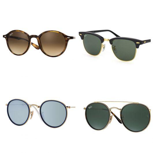 Modelos de óculos redondo masculino da Ray Ban