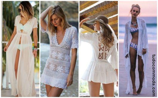 Saída de Praia Branca – 51 Modelos Lindíssimos & Onde Comprar a Sua!