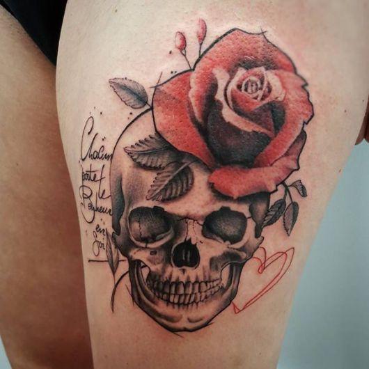 Tatuagem De Caveira 100 Inspiracoes Magnificas Seus Significados