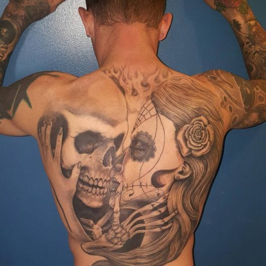 109 Best Back Tattoos For Men: 100 Inspirações Magníficas & Seus