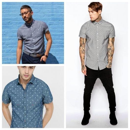 Camisa Casual Masculina – 40 Modelos para Usar no Seu Dia a Dia!
