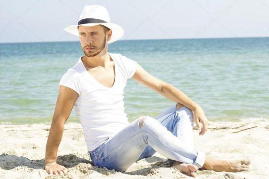 26cc846890 Chapéu de Praia Masculino – 40 Modelos Incríveis para Usar no Verão!
